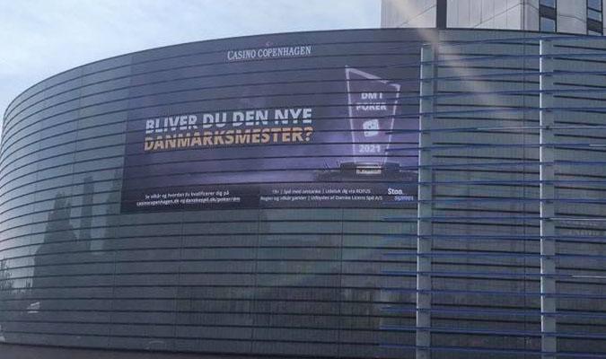 Facaden hos Casino Copenhagen, DM i Poker 2021, Pokernyheder