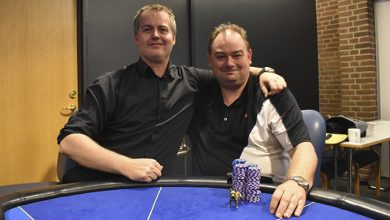 Kasper Kvistgaard og Henrik Hansen, Sidste nat med Kasper, Casino Munkebjerg, Live Poker, Pokernyheder